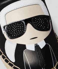 Espadrile Karl Lagerfeld Ikonik Slip-on