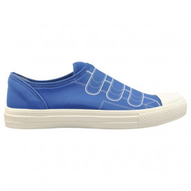 Pantofi din material elastic, cu talpa din spuma Fessura Sock Strap blue