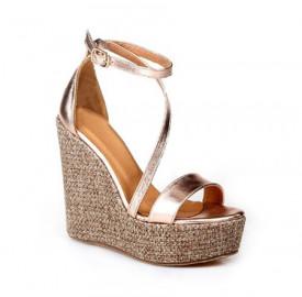 Sandale cu platforma ATHENA HANDMADE GREEK SANDALS
