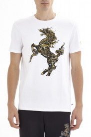 Tricou ''GOLD HORSE'' Roberto Cavalli Sport