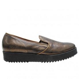 Pantofi casual Donna Piu bronzo