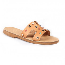 Papuci dama ATHENA HANDMADE GREEK SANDALS