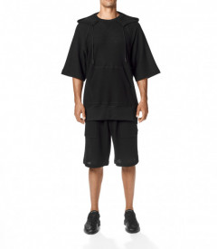 Tricou Y-3 CH3 Chain Mesh Hooded TEE