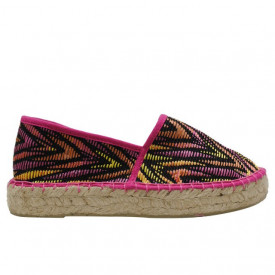 Espadrile dama din material textil Colors of California