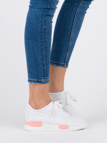 Pantofi sport cod N802 White