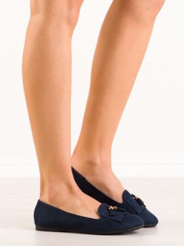 Pantofi casual cod H7207 Azul