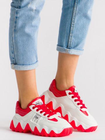 Pantofi sport cod 9915 Red