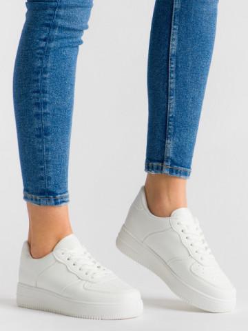 Pantofi sport cod R-699 White