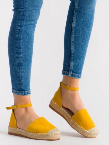 Espadrile cod 3082 Yellow
