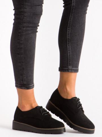 Pantofi casual cod 18-107A Black