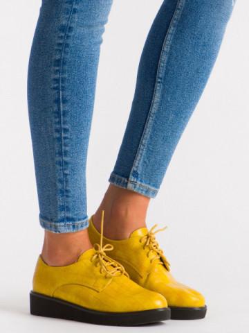 Pantofi casual cod 930-16 Yellow