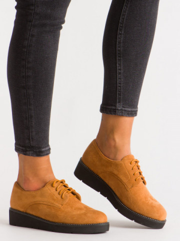 Pantofi casual cod 930-19 Camel