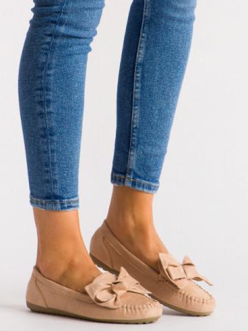 Pantofi casual cod B1402 Beige