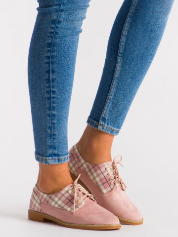 Pantofi casual cod WG0046 Pink
