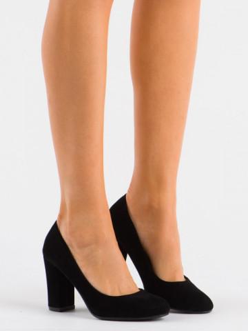 Pantofi cu toc cod 20-19 Black