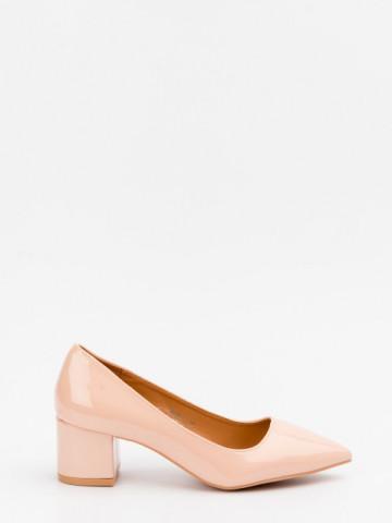 Pantofi cu toc cod 3839-3 Nude