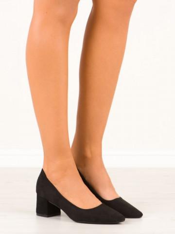 Pantofi cu toc cod CC210 Black