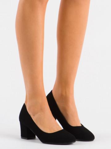 Pantofi cu toc cod XKK251 Black