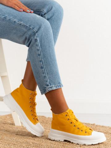 Pantofi sport cod 1902 Yellow