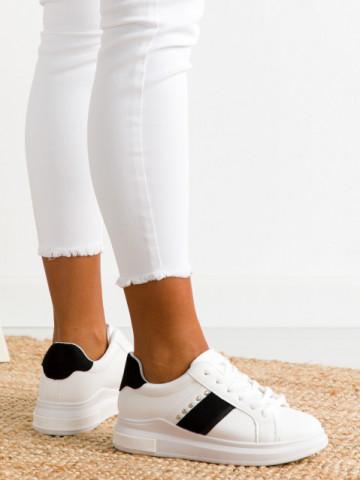 Pantofi sport cod 2027 White/Black