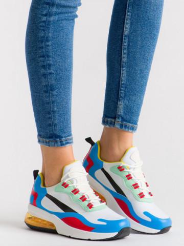 Pantofi sport cod 2235 White/Red
