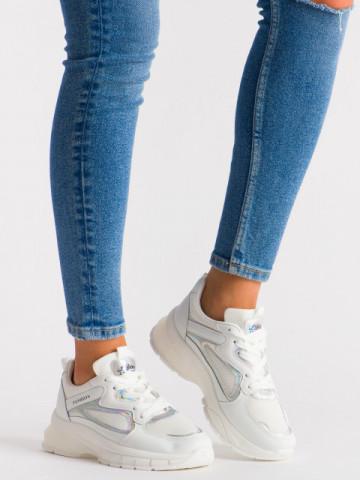 Pantofi sport cod 5822 White