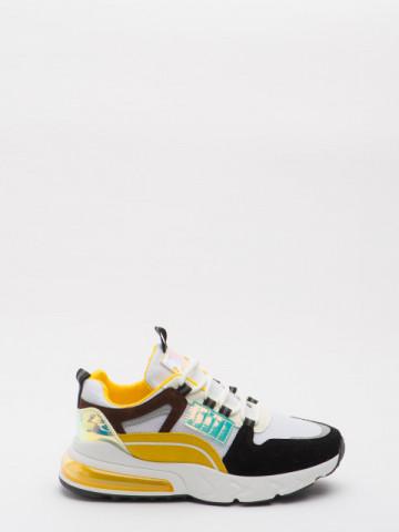 Pantofi sport cod 618-2 Black/Yellow