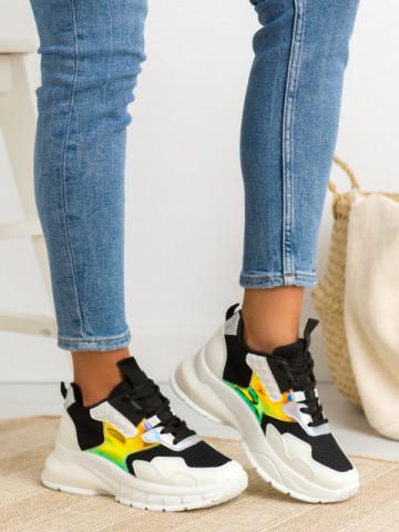 Pantofi sport cod 658 Black