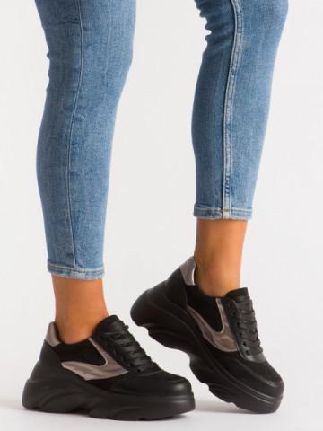 Pantofi sport cod A1055 Black
