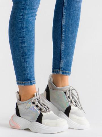 Pantofi sport cod ABC-309 White
