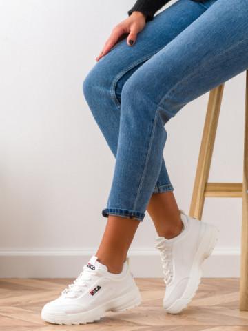 Pantofi sport cod ABC305 White