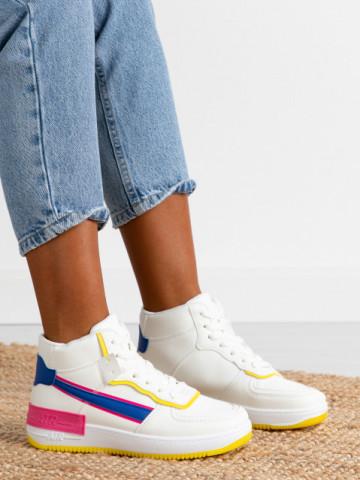 Pantofi sport cod AJ2 White/Blue