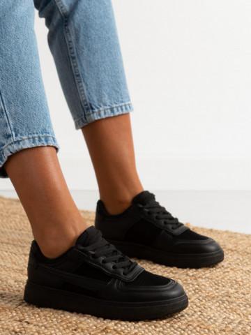 Pantofi sport cod AJ802 Black