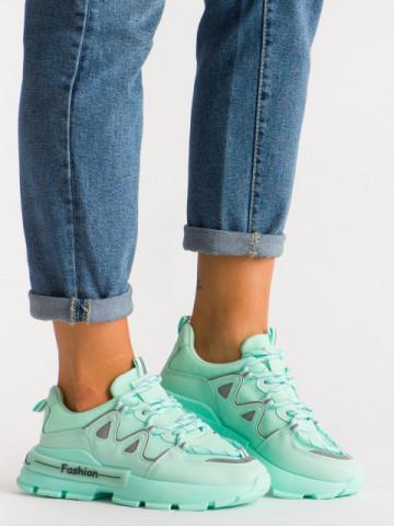 Pantofi sport cod B05 Green