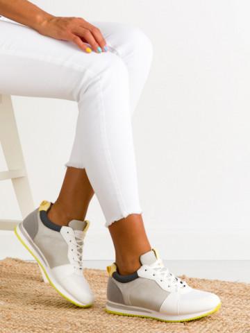 Pantofi sport cod BO546 White
