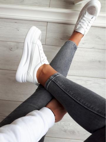 Pantofi sport cod C06 White