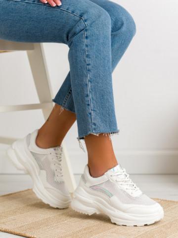 Pantofi sport cod F3232 White