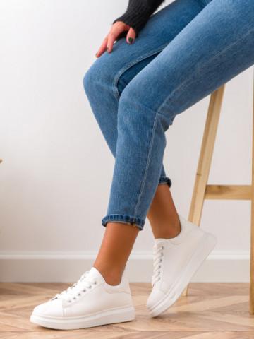 Pantofi sport cod G330-2 White