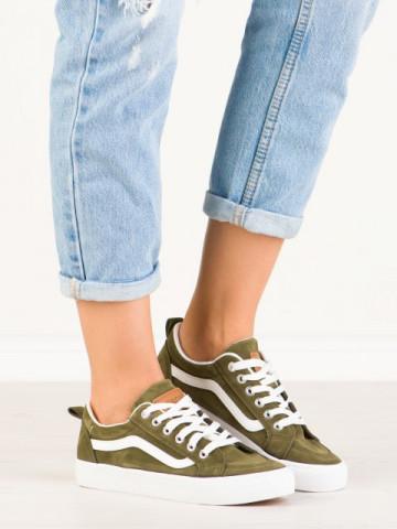 Pantofi sport cod H2190 Army Green
