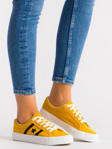 Pantofi sport cod H2203 Yellow
