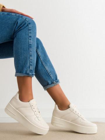 Pantofi sport cod J190 Beige