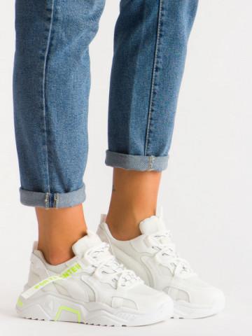 Pantofi sport cod K06 White