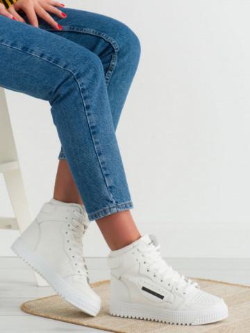 Pantofi sport cod LA139 White