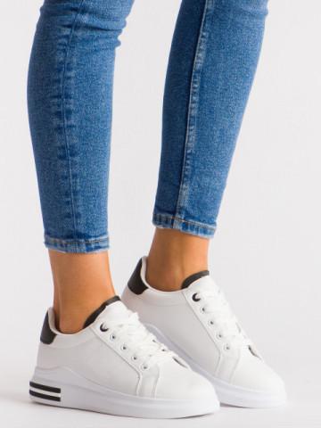 Pantofi sport cod LG20 White/Black