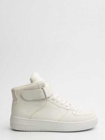 Pantofi sport cod R713 White