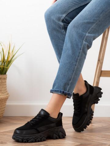 Pantofi sport cod S017 Black