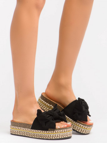 Papuci cod CK137 Black
