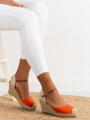 Sandale cod 6000802 Orange
