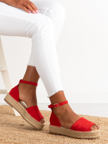 Sandale cod A21-27 Red