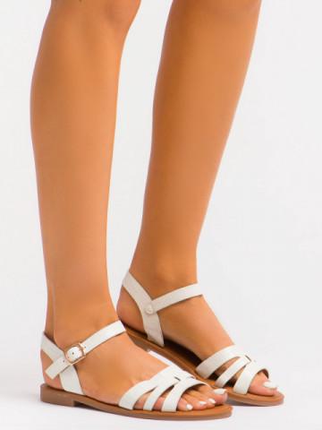 Sandale cod C1076 White